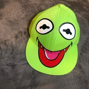 The Muppets • Kermit • SnapBack • Green • Adult